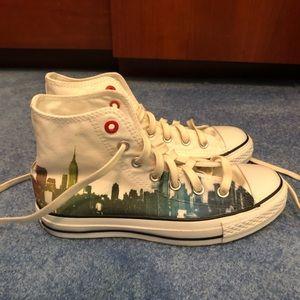 Shoes - Converse City Skyline